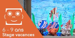 6-9 ans / Stage vacances : L'aquarium magique