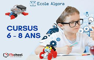 6 - 8 ans / Cursus Samedi : 1ère année - Durée : 1 année
